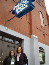 Photo: Charisse Bremmond, Director of Brotherhood Crusade, and Jennifer White in front of Ebenezer Baptist Church, Atlanta, GA.