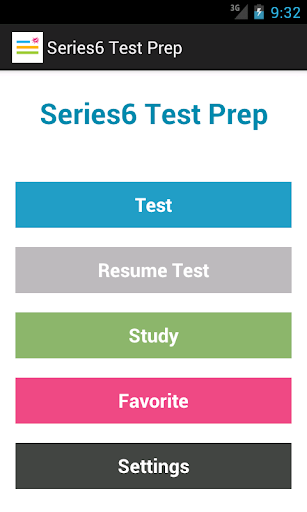 Series 6 Test Prep