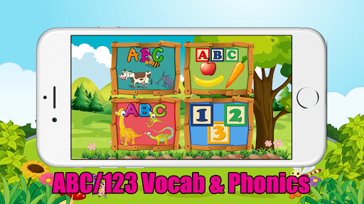 ABC 123 Kids Game - Vocab Phonics Tracing Spelling 1.0.0 screenshots 2