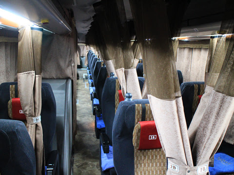 南海バス「サザンクロス」銚子線 ・478 車内