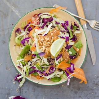 Thai Quinoa Salad With Spicy Peanut Dressing