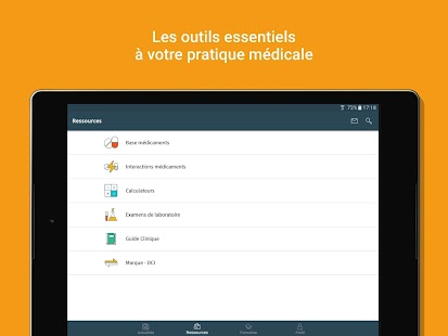 Univadis - Medicaments Interactions- screenshot thumbnail
