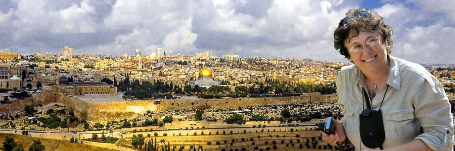 Светлана Фиалкова - гид в Иерусалиме и по всему Израилю.
