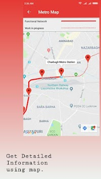 Lucknow Metro Map.Download Lucknow Metro Route And Fare Apk Latest Version App For
