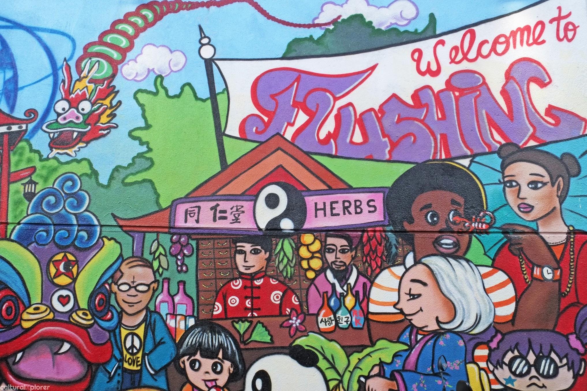 Flushing Queens Mural