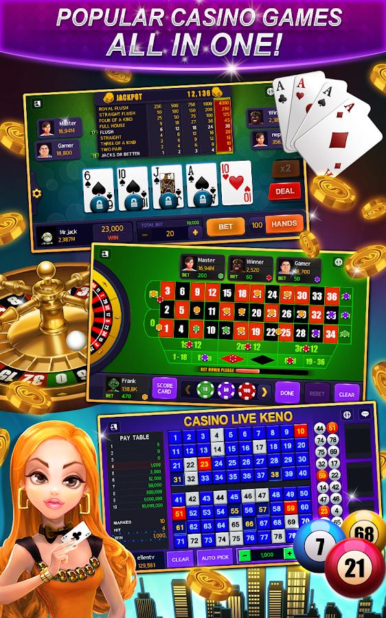 free slot keno games
