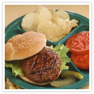 Backyard Barbecued Burgers