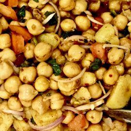 Chana Chaat by Nadeem M Siddiqui - Food & Drink Plated Food