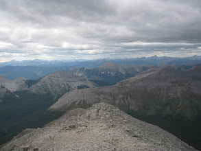 Photo: Looking North from Crowsnest Mountain