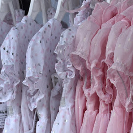 Little Girl Dresses  by Lorraine D.  Heaney - Artistic Objects Clothing & Accessories