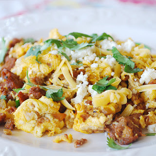 Chorizo Egg Scramble