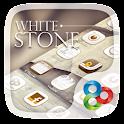 White Stone GO Launcher Theme icon