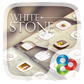 White Stone GO Launcher Theme