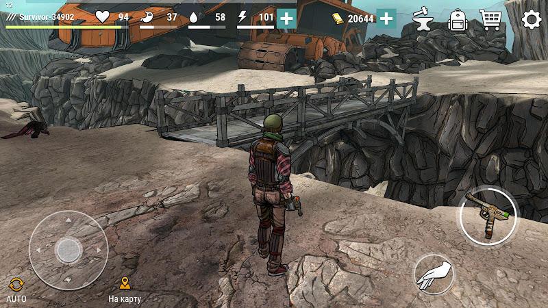 Скриншот Dark Days: Зомби выживание
