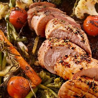 Rosemary Roasted Pork Tenderloin.