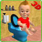 Baby Toilet Training Simulator