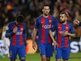 Jordi Alba souffre d'une lésion musculaire