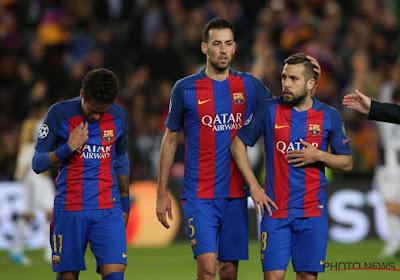 Eigen doelpunt van Busquets kost Barça plaats in halve finale van de Copa del Rey