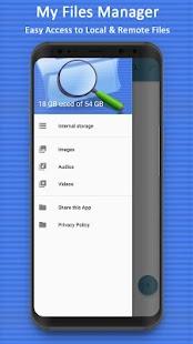 My File Manager: File Explorer - náhled