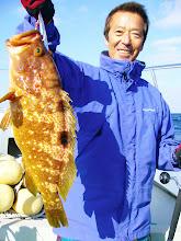 """Photo: でかー! 3kgの""""キジハタ""""! この魚の最大サイズでしょう!"""