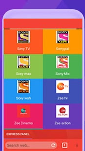 Nishu TV & Browser & Live sports, movies, shows - náhled