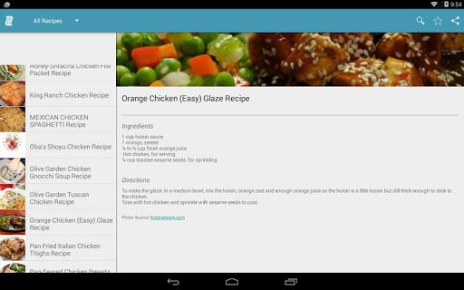 玩免費遊戲APP|下載All Chicken Recipes app不用錢|硬是要APP