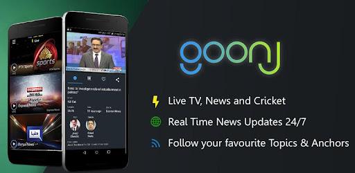 Goonj: Live TV, News & PTV Sports - Apps on Google Play
