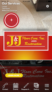 J&J Floor Care Inc.- screenshot thumbnail
