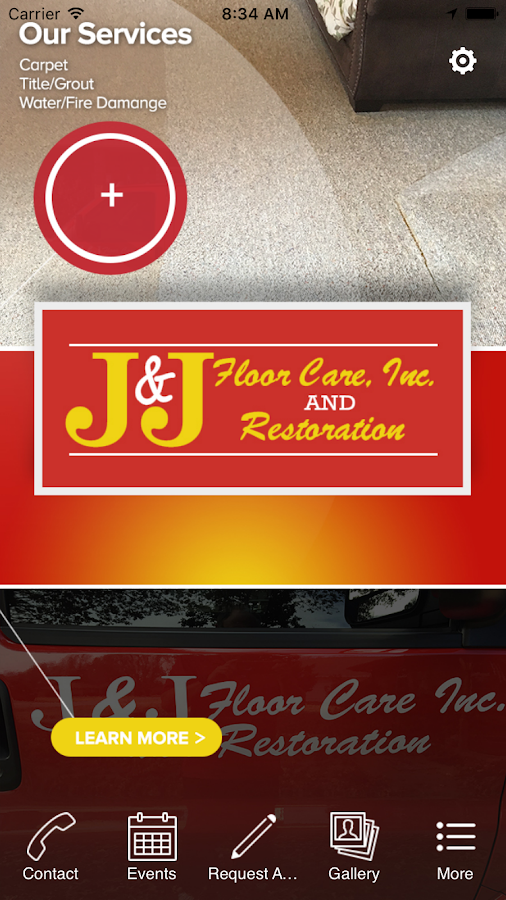J&J Floor Care Inc.- screenshot