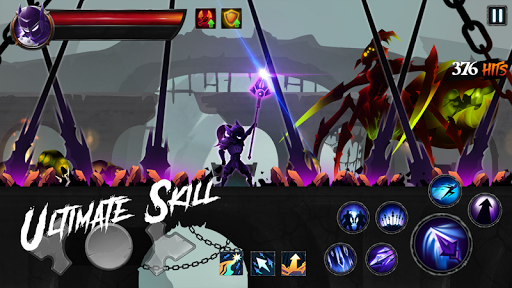 Shadow Legends : Stickman Revenge - Game RPG 1.2.1 APK MOD screenshots 1