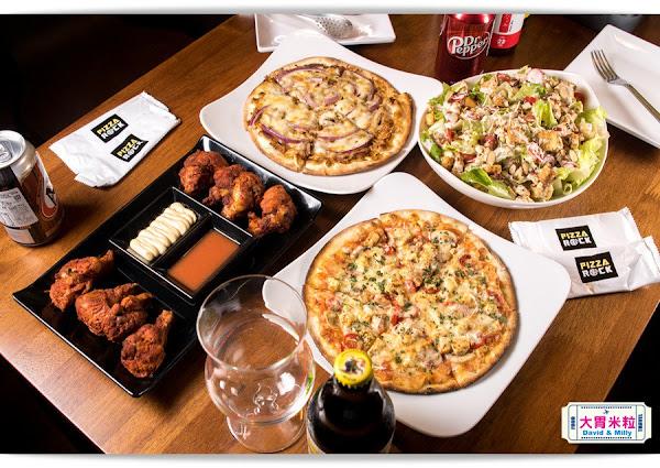 Pizza Rock 搖滾披薩,高雄文化店,手作義式披薩餅皮搭配特製手撕豬肉,滿嘴充滿Rock Roll,高雄義式披薩推薦