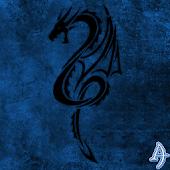 Kit Kat Dragon Blue Theme
