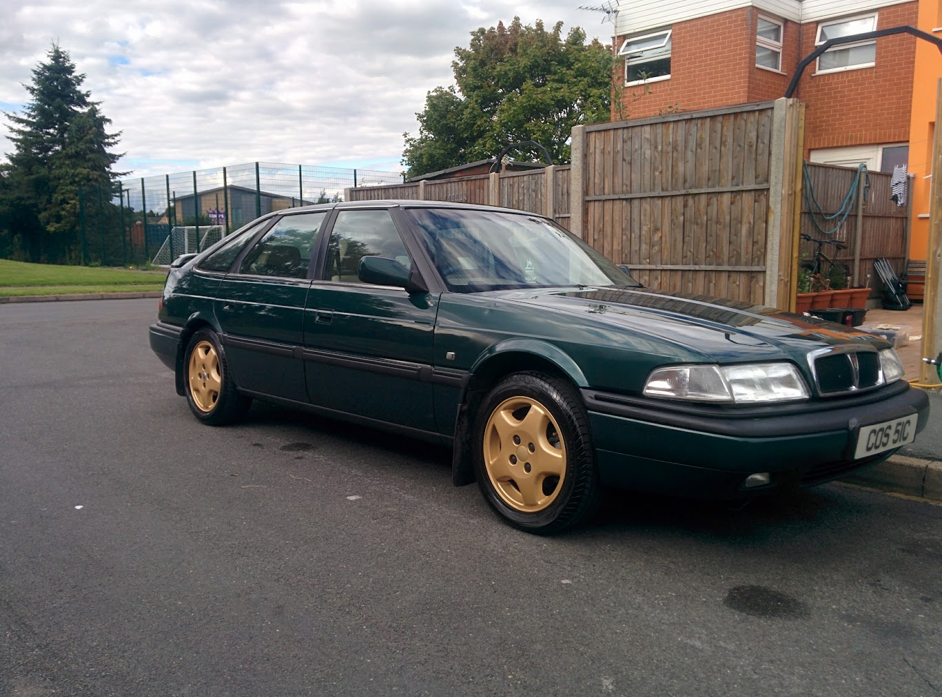 1999 Rover 820 British Racing Green Fastback For Sale Rover800 Info