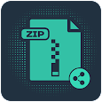 Zip File Maker And Share icon