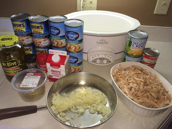 April 27th, 2015 --- Made a double batch of chili for a church event....