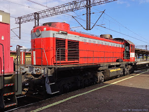 Photo: TEM2-169 (Orlen KolTrans) {Toruń Wschodni; 2014-09-23}