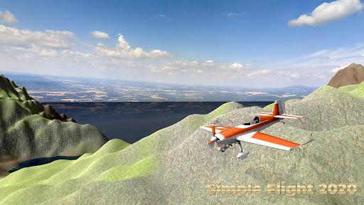 Flight Simulator Simple Flight 2020 Airplane android2mod screenshots 16