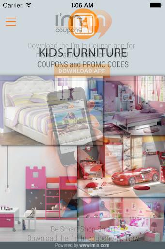 Kids' furnitureCoupons-I'm in