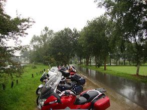Photo: het regent ook gewoon maar door!