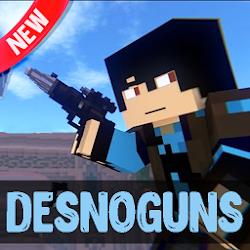 DesnoGuns mod for Minecraft