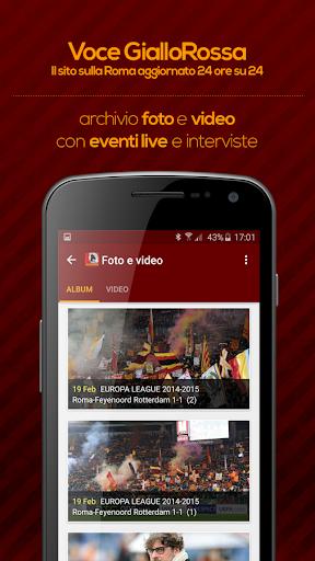 Voce GialloRossa - Roma 3.9.2 screenshots 2