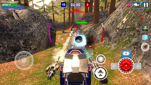 Mech Wars: Multiplayer Robots Battle filehippodl screenshot 13