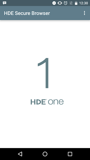 HDE Secure Browser 3.3.2 Windows u7528 2