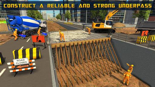 Mega City Underpass Construction: Bridge Building 1.0 screenshots 10