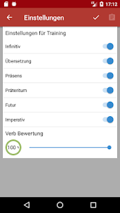 Russisch Verb Trainer – Miniaturansicht des Screenshots