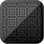 GEOMETRIC PATTERNS: Black Squares (HQ Wallpapers) Icon