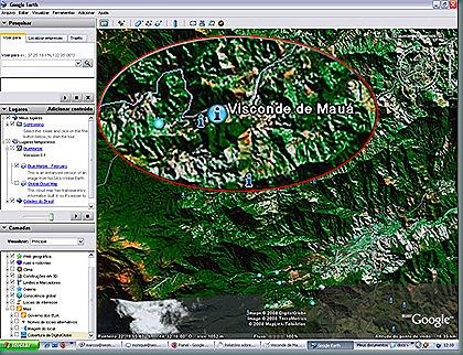 Visconde de Mauá - Google Earth