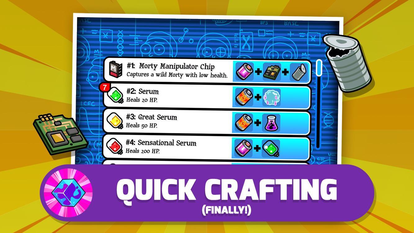 Pocket Mortys screenshot #4