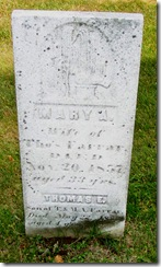 Tirrill Mary Adith Farrar headstone 2
