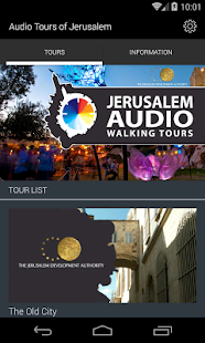 Audio Tours of Jerusalem- screenshot thumbnail